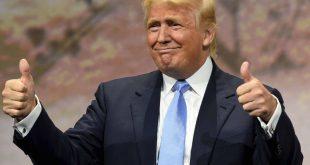 Выполненный Трампом набросок черным маркером выставили на аукцион за $9 тыс.