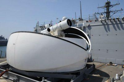 Американские военные провели успешные испытания лазерного оружия в Персидском заливе