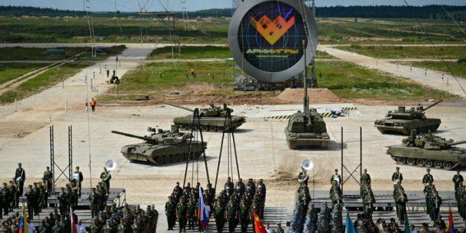 «Катюша» стала гимном международных Армейских игр в Китае