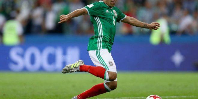 Лучшим голом Кубка конфедераций-2017 признан удар мексиканца Марко Фабиана