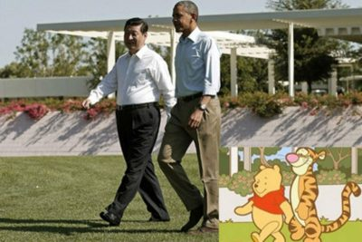 В Китае объявили войну Винни Пуху из-за его схожести с Си Цзиньпином