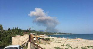 При взрыве на военном складе в Абхазии погибли две российские туристки