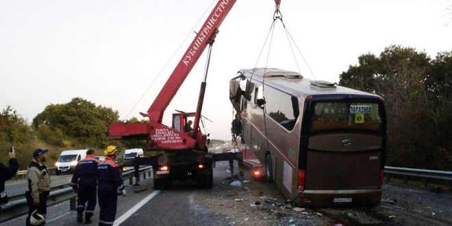 В страшном ДТП на Кубани погибло 6 паломников