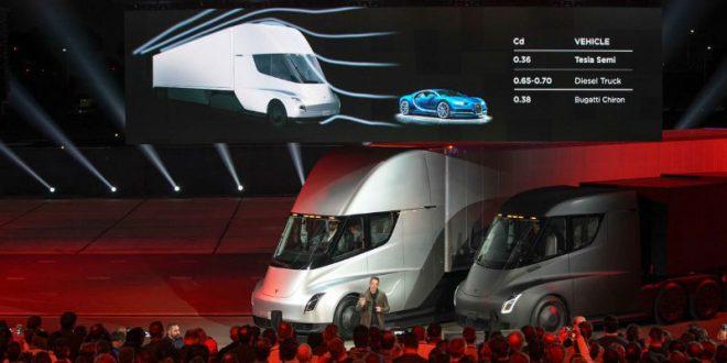 Илон Маск представил беспилотную электрофуру Tesla