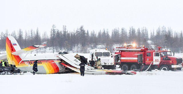 В аэропорту Нарьян-Мара рухнул АН-2, появилось видео падения